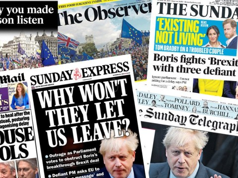House of Fools: How newspapers reacted to Boris Johnson's embarrassing Brexit defeat