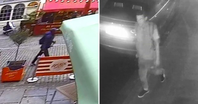 Composite shot of suspect wanted in connection with series of sex attacks in Brighton