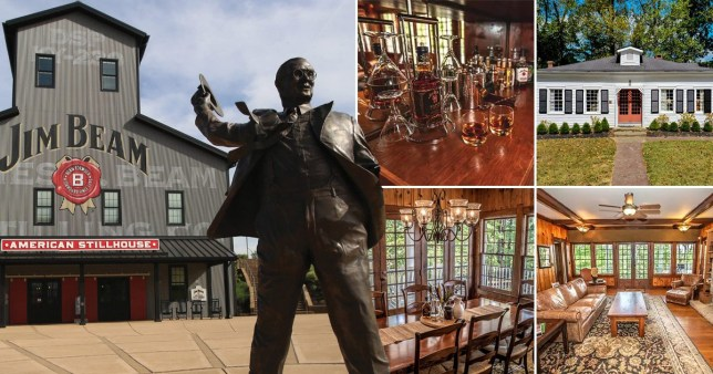 Rent the Jim Beam Distillery for a night on Airbnb