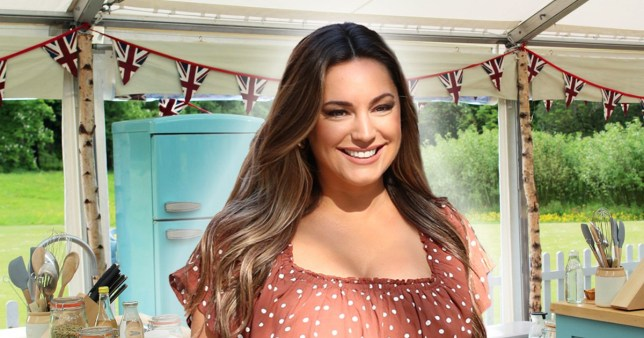Kelly Brook bake off