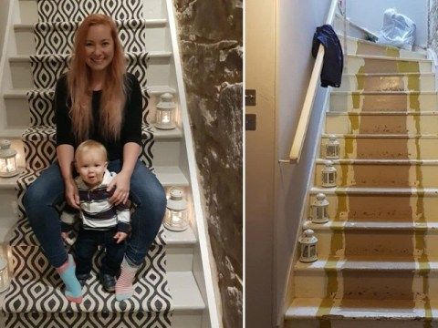 Woman saves 'about £1,000' by budget shopping for staircase materials