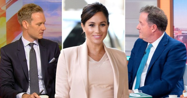 Piers Morgan brands BBC Breakfats rival Dan Walker a 'sniveling sycophant' over Meghan Markle