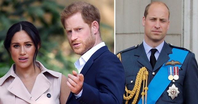 William is said to be 'very worried' about this brother (Picture: EPA/ Rex/ Shutterstock)
