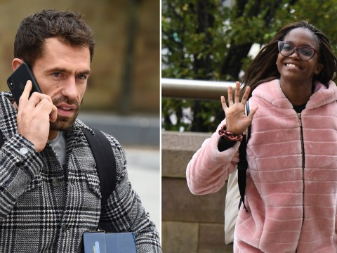 Strictly's Oti Mabuse and Kelvin Fletcher are all smiles after clashing over previous dance routine