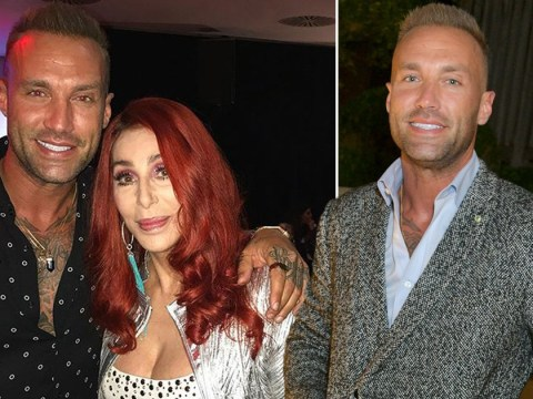 Calum Best reunites with godmother Cher after her London show
