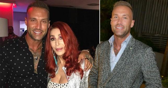 Calum Best and Cher