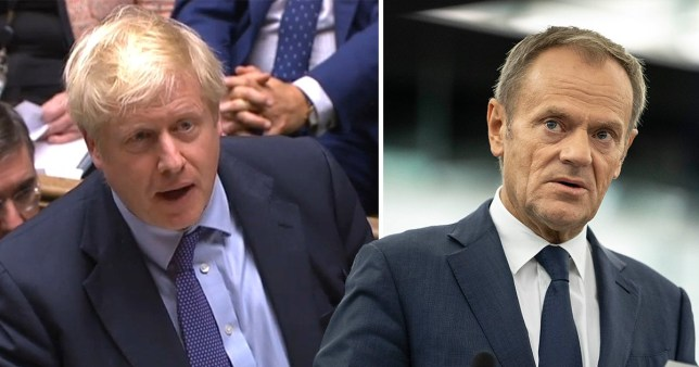European Council President Donald Tusk has suggested that Prime Minister Boris Johnson request for an extension will be granted (Picture: AP Photo/Jean-Francois Badias)