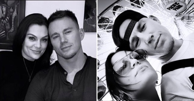 Jessie J and Channing Tatum share loved-up selfies on day out