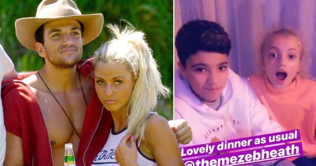 Katie Price and Peter Andre kids