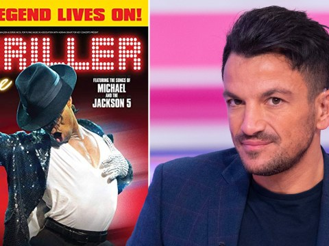 Peter Andre starring in Michael Jackson's Thriller after sex abuse claims: 'This is about the music'