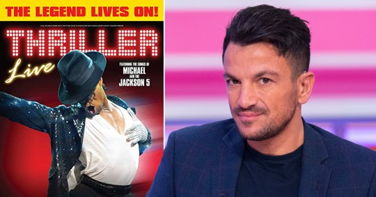 Peter Andre and Michael Jackson