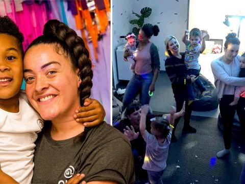 Mum who loved partying creates baby rave business after having her son