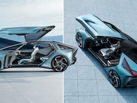 Lexus reveals futuristic electric concept car that's basically Minority Report-on-wheels