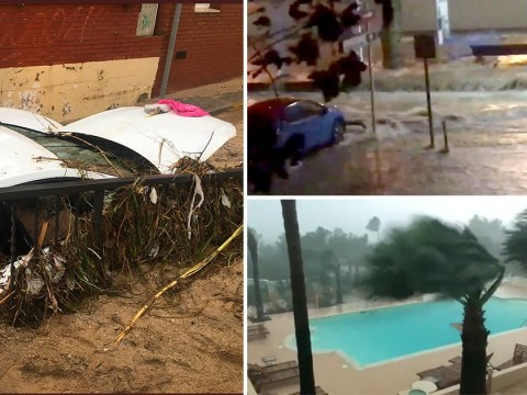Three missing after Ibiza tornado lifts their hut into the air