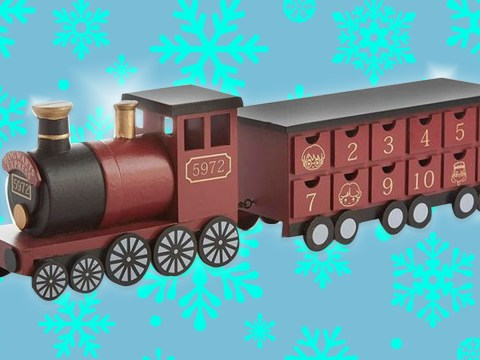 Primark is selling an amazing wooden Harry Potter Hogwarts Express train advent calendar for £15