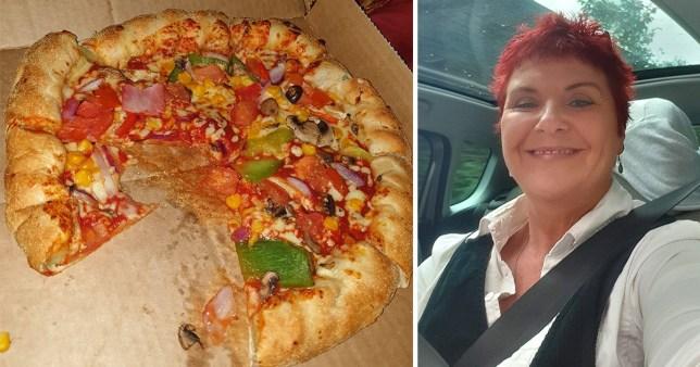 Caroline Parkinson felt 'mortified' after discovering the ham (Picture: Metro.co.uk)
