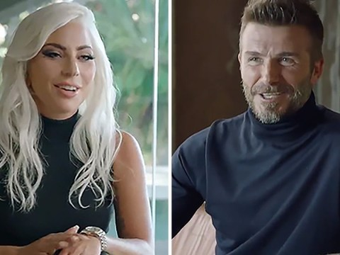 Lady Gaga and David Beckham exude class and luxury as they star in their first advert together