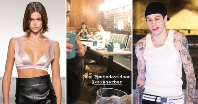 Pete Davidson dating Kaia Gerber?