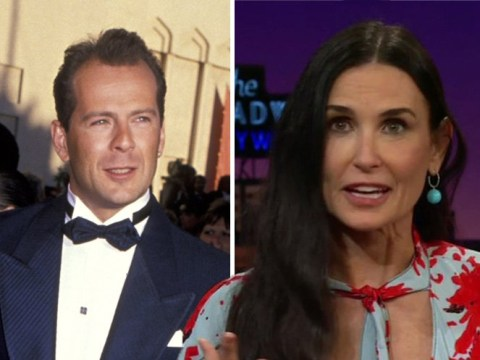 Demi Moore mocks ex-husband Bruce Willis's huge paycheques after he earned 'more than he deserved' in 90s