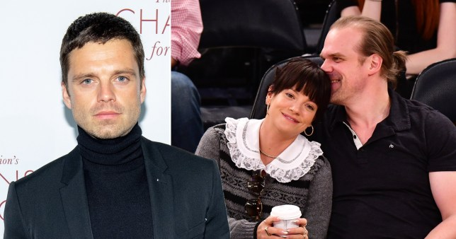 Sebastian Stan, Lily Allen and David Harbour