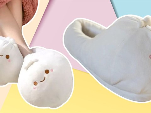 You can now buy heated dumpling slippers for cosy winter evenings