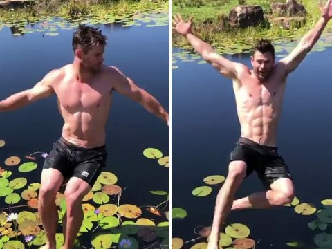 Avengers' Chris Hemsworth can't be Thor all the time as he's roasted over backflip fail