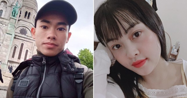 Nguyen Dinh Luong and Pham Thi Tra My have been named by relatives as possible victims of the Essex lorry tragedy (Picture: BBC)