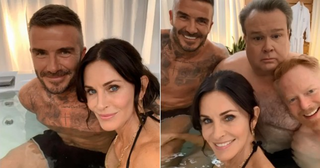 David Beckham films cameo on modern family