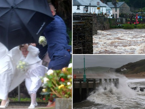 Rain and snow to batter UK as met office warn of 'danger to life'