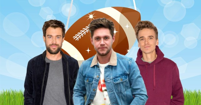 Jack Whitehall, Niall Horan and Joe Sugg