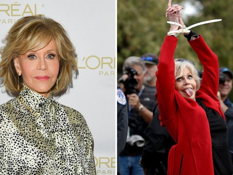 Jane Fonda scoops up Bafta while being arrested in best acceptance speech of all time