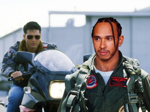 Lewis Hamilton turned down Top Gun role alongside Tom Cruise and our minds are blown