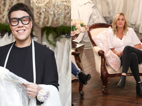 Say Yes To The Dress' Gok Wan shocked as brutally honest maid-of-honour tells bride she can see cellulite