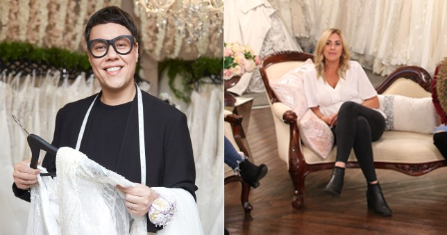 Gok Wan clashes with brutally honest maid of honour Sara in Say Yes To The Dress