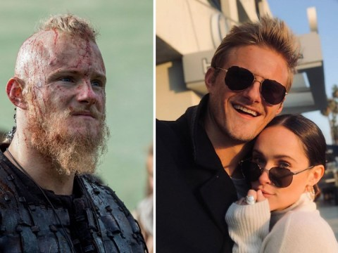 Vikings' Alexander Ludwig misses co-star girlfriend as she takes on new project