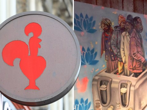Nando's apologises over 'racist' painting showing black people in toaster