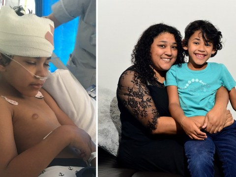 Mum has to choose to let son, 7, battle seizures or risk leaving him paralysed