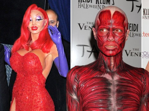 Heidi Klum's Halloween costumes over the years as she teases 'very special' 2019 look