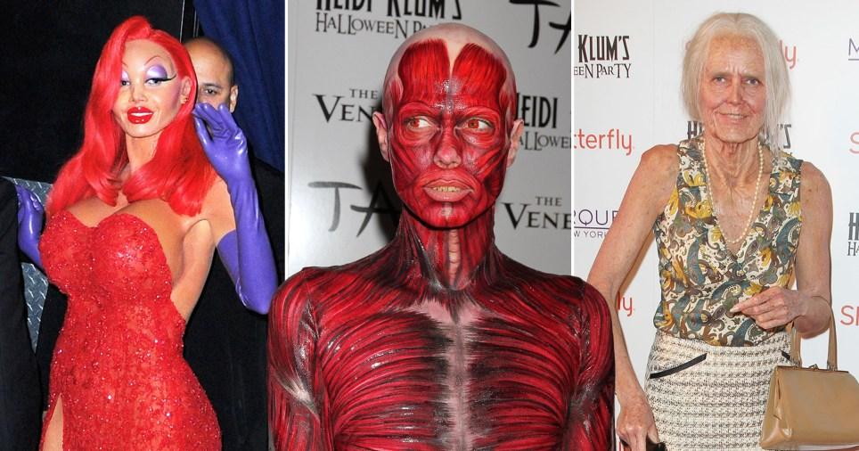 Heidi Klum Halloween Costumes Over The Years Ahead Of 2019