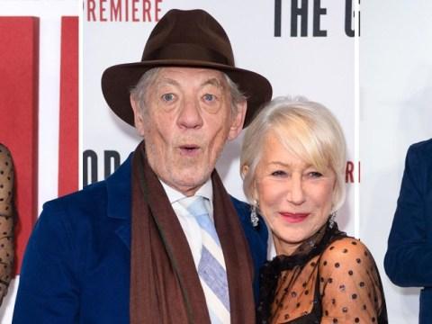 Sir Ian McKellen and Dame Helen Mirren shine on red carpet at The Good Liar premiere
