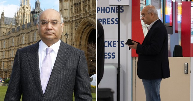 Keith Vaz has been admitted to hospital, a statement on his website said (Picture: MJ-Pictures/Getty)