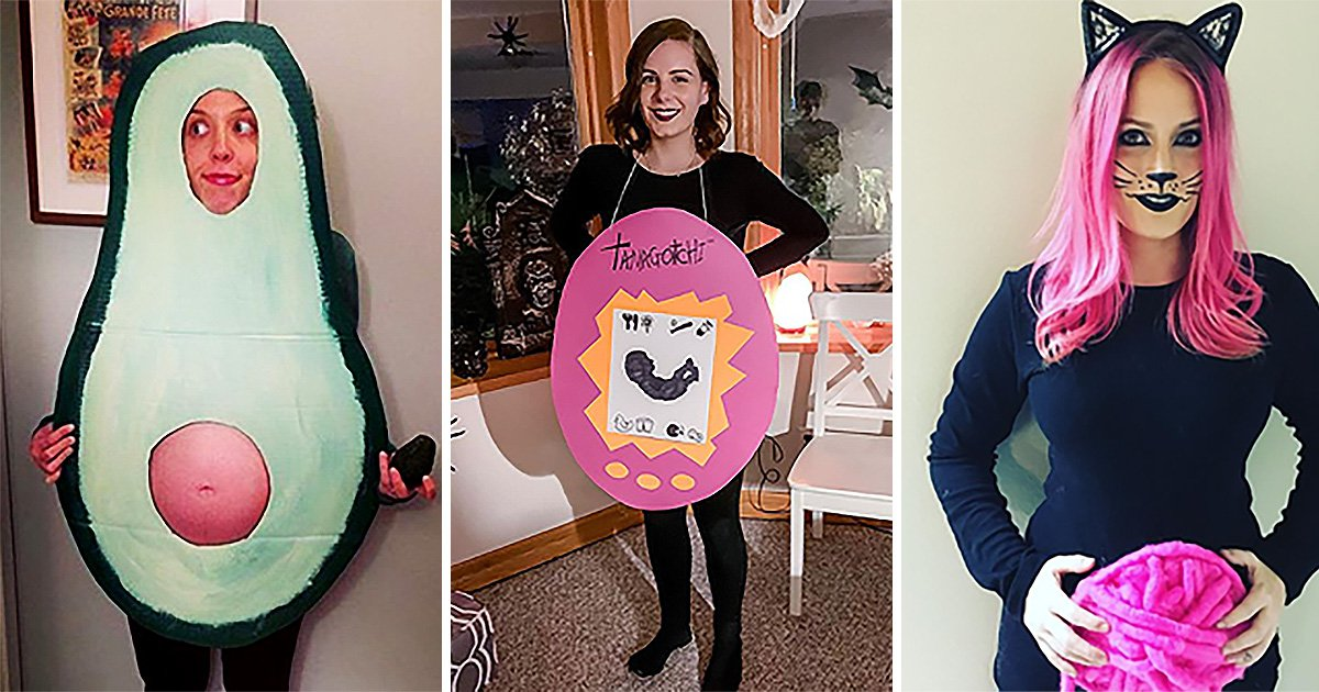 The best last,minute Halloween costumes for pregnant women