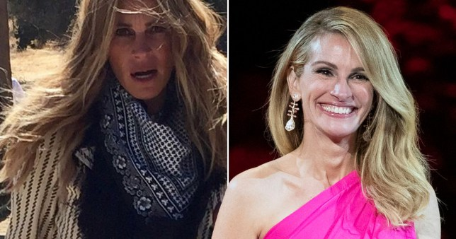 Julia Roberts Celebrates 52nd Birthday As Celebrity Pals