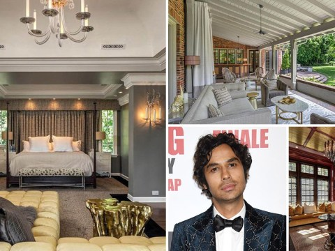 Inside The Big Bang Theory star Kunal Nayyar's mansion as star 'spends $7.5million' on sprawling home