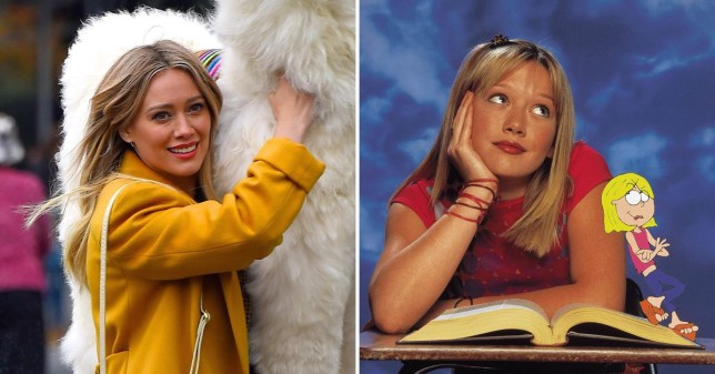 Hilary Duff starts filming Lizzie McGuire reboot