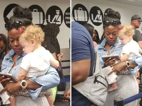 Mum emotionally thanks kind stranger who entertained her baby after tantrum in long queue