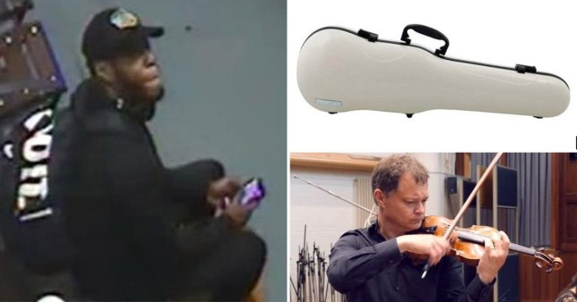 Police release image of man they want to speak to in case of £250,000 stolen violin