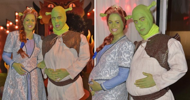 Jeremy Kyle as Shrek!