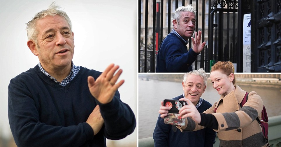 John Bercow newly released pictures