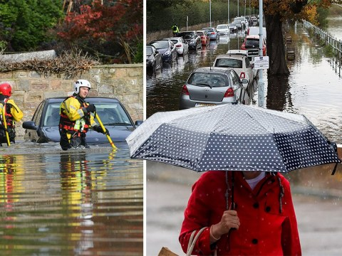 Two weeks of rainfall to hit UK after freezing Halloween night